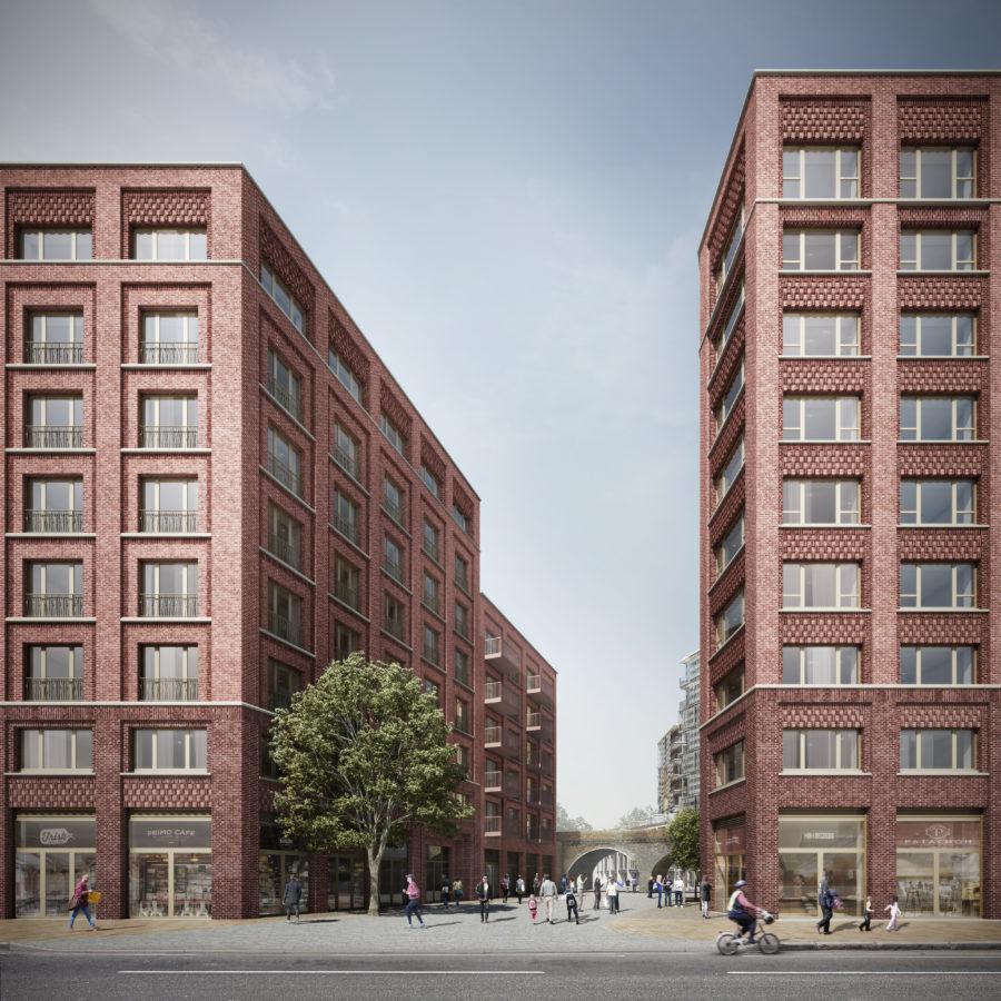 Affordable Housing At Macfarlane Place Television Centre