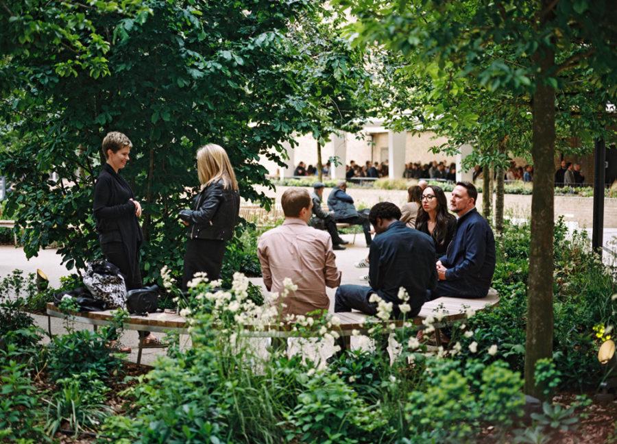 Helios Forecourt Garden