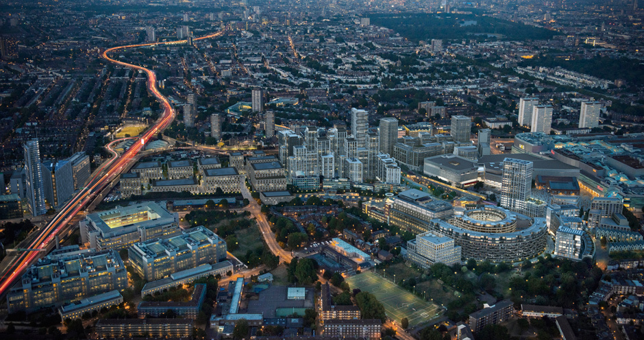 Satellite Tv Internet >> White City Place - The future of innovation