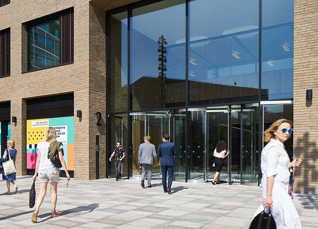 2 Television Centre entrance