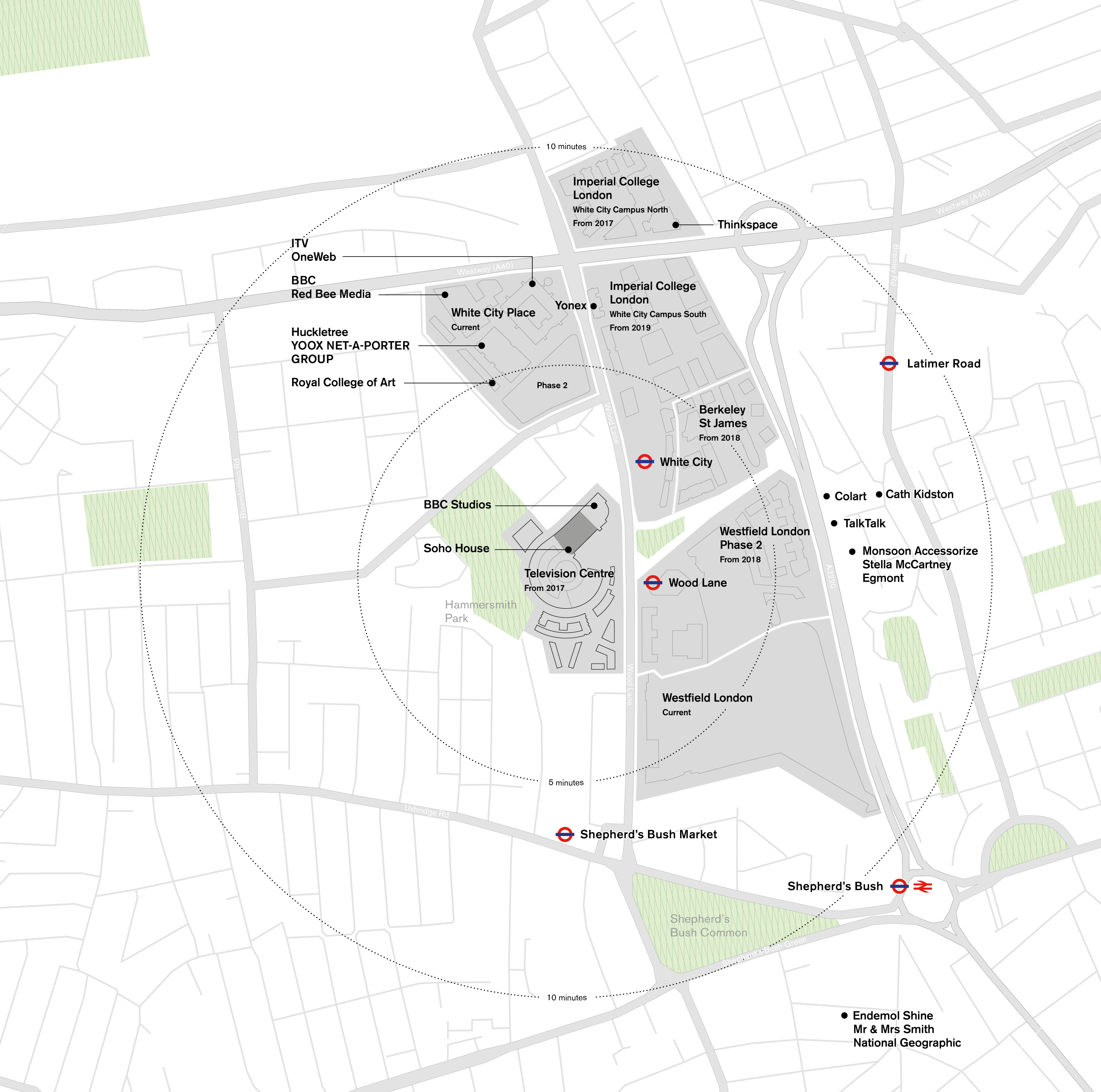 Offices masterplan